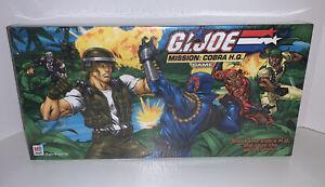 GI JOE MISSION: COBRA HQ Board Game 2002 Milton Bradley Sealed New