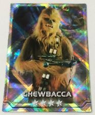Chewbacca STAR WARS Force Collection Promo Card Holo / Shiny Japanese