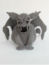 Gargoyle Tea Cosy Knitting Pattern to knit your own Gargoyle Tea Cosy