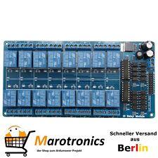 16 Channel Relais 12V Relay für Arduino mit Optokoppler