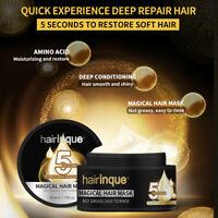 Hairinque 50ml Magique Traitement Cheveux Masque Nourrissant 5 Secondes Répare
