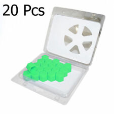20Pcs Green Wheel Nut Bolt Cover Caps 17mm For Vauxhall Opel Corsa Astra Vectra