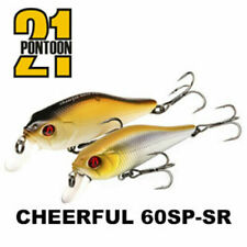 Pontoon21 Cheerful 60SP-SR 6cm 7,2g Fishing Lures (Choice Of Colors)