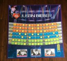 Justin Bieber Back Stage 2010 board game replacement board only
