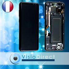 Vitre tactile + Ecran LCD sur chassis pour Samsung Galaxy S8 Plus G955F noir