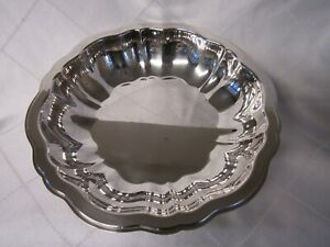 Wm A Rogers/Oneida Silver Chippendale 1919 Round Vegetable Bowl