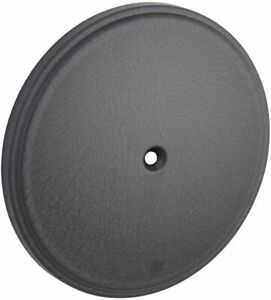 Arlen Ness - 18-771 - Stage II Steel Air Filter Cover, Black 26-3295