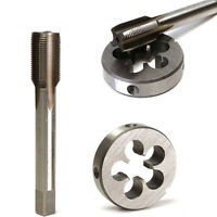Useful 1/2-28 UNEF Right Hand Tap + Round Die Set HSS Tapping Cutting Hand Tool*