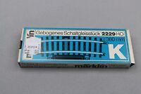ZC2114 Marklin Ho 1/87 train 2229 rail telecommande courbe R 360 mm curved track
