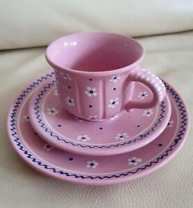 Gmundner Keramik Dirndl Rosa, Untertasse