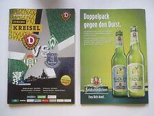 Pr129 PROGRAMM DYNAMO DRESDEN SV WERDER BREMEN FC EVERTON 2016  Bundesliga DFB