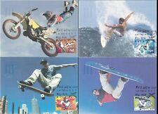 Australia Maximum / Maxi Cards - 2006 Extreme Sports (Set of 4)