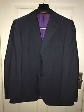 "Men's Hawick Tailored Suite Grey Jacket Blazer 40"" S RRP £160 BNWT"