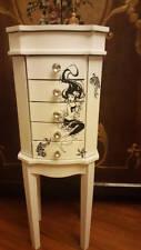 Jewelry Armoire Cabinet Chest Organizer Stand Holder  Storage Mermaid