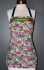 APRON, LA CATRINA APRON, REVERSIBLE APRON, MEXICAN CHIC, LIKE COCO MOVIE