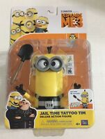 Despicable Me 3 Minions Jail Time Tattoo Tim Deluxe Action Figure New