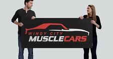 Windy City Muscle Cars 2.5' x 6' Banner 1969 Camaro COPO Z28 ZL1 SS RS