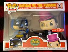 FUNKO POP HEROES 2 PACK BATMAN VS THE PENGUIN TARGET EXCLUSIVE Never Open IN BOX