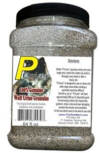 Wolf P-Cover Wolf Urine Granules Big 64 fl oz. Save over $20 vs 16 oz size!