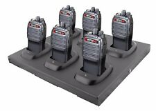 Mitex General Xtreme Six Pack UHF 5w Licensed Handheld Radio With 6 Bay Charger