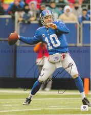 ELI MANNING SIGNED AUTOGRAPH AUTO 8x10 RP PHOTO NY GIANTS QB