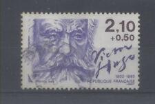 FRANCE TIMBRE OBLITERE N° 2358 PERSONNAGES CELEBRES 1985 VICTOR HUGO o2