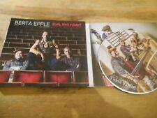 CD Jazz Berta Epple - Egas was kommt (14 Song) GLM MUSIC / FINE MUSIC digi