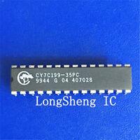 10 PCS CY7C199-35PC, CYPRESS, IC SRAM 256KBIT 35NS 28DIP new