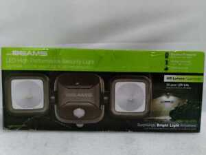600 Lumens Battery Powered Motion Sensing LED Security Light by MR BEAMS