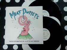 "MEAT PUPPETS ""No Strings Attached"" 2 LP SST USA 1990"