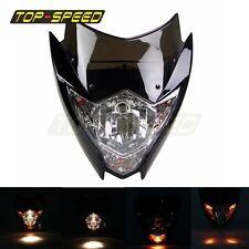 Motorcycle Headlight Fairing Lamp Street Fighter Dirt Bike For XR CRF CBR KTM