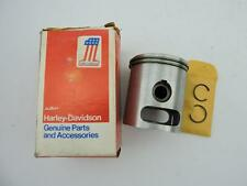 22005-74P NOS Harley Davidson Aermacchi Piston With Rings SS SX 175 1970s W5312