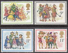 GB MNH STAMP SET 1978 Christmas Carol Singers SG 1071-1074 10% OFF FOR ANY 5+