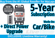MyLaps X2 Car/Bike Direct Power Transponder w/ 5-year Subscription -AMB Flex 260