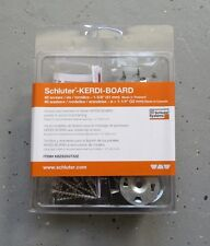 Schluter Systems Kerdi Board Screw and Washer Set KBZS35GT32Z 40 Pcs Box