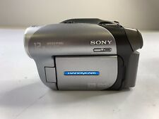 SONY DCR-DVD203 NTSC Handycam Camcorder-12X Optical Zoom Camera DVD NO Pw Cable