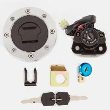 Suzuki Hayabusa GSXR1300 1999-2015 Ignition Switch Fuel Gas Cap Seat Lock Key