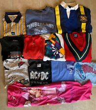 Vintage 80s 90s Wholesale T-Shirt Shirt Sweatshirt Clothing Lot of 12