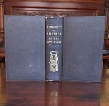New listing Democracy In America - Early Edition - Iconic Book