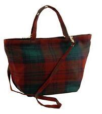 Lindsay Modern Tartan Handbag 100% Wool 60% off RRP (Style 419)