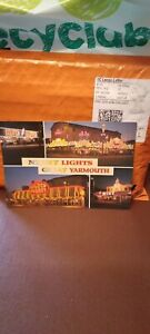 Postcard Night Lights Great Yarmouth Norfolk Multiview P2