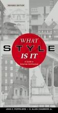 What Style Is It?: A Guide to American Architecture (Paperback or Softback)