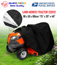 """Deluxe Riding Lawn Mower Tractor Cover Yard Garden Fits Decks up to 75"""" - Black"""