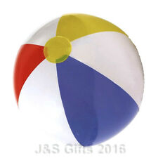 """New Inflatable Blow up Panel Beach Ball 24"""" 60cm Swimming Party Fun For Holiday"""