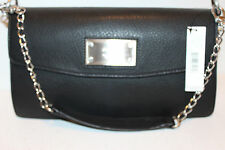 DKNY Designer Black Leather Handbag Tote Purse