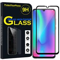 """Vitre De Protection Écran Film Verre Trempe Huawei Honor 10 Lite 6.21"""" HRY-AL00"""