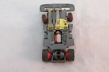 TYCO TCR WIDE PAN CHASSIS ~ OILED & GOOD RUNNING ~ VERY NICE!