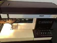 Pfaff Tiptronic 1171 Sewing Machine NO Foot Pedal, Power, Or Case. Tested Works