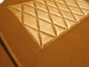 Cognac velours carpet kit for Jaguar Mark X (MK10) & 420G 1961-1970
