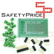Prototipo bloque terminal Shield Board kit Arduino MEGA 2560 R3 Prototype Screw